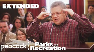 Patton Oswalt's Star Wars Filibuster Parks And Recreation