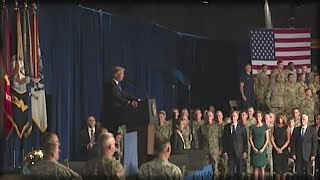 TRUMP JUST STEPPED IN FRONT OF THE MILITARY AND GAVE THEM AN ORDER THAT MADE JAWS DROP