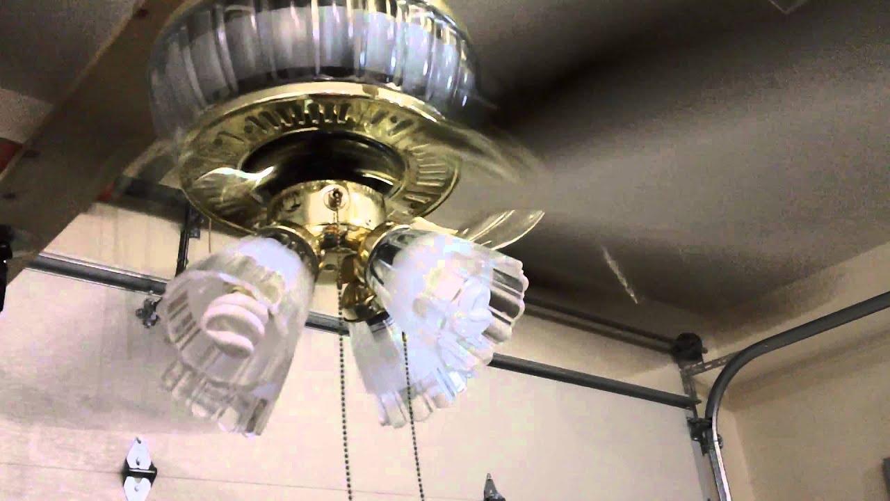 52 Quot Hampton Bay Jericho Ceiling Fan Youtube