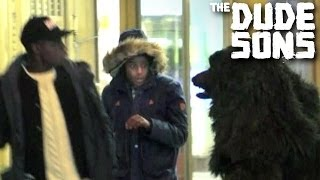 Bear suit prank with Roman Atwood