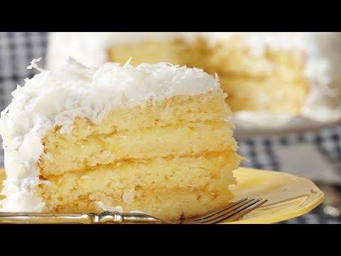 Coconut Cake Recipe Demonstration - Joyofbaking.com