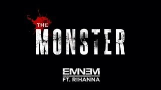 Eminem Ft. Rihanna The Monster (Clean + Lyrics)