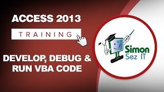 How To Develop, Debug And Run VBA Code Microsoft Access