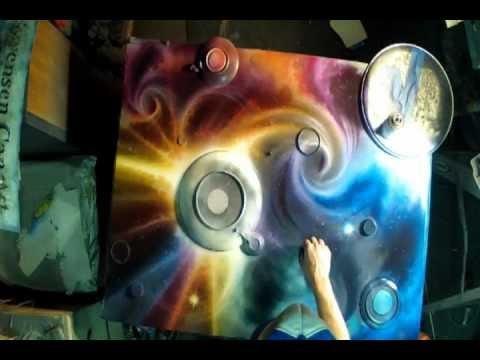 Matt Sorensen Spray Paint Art