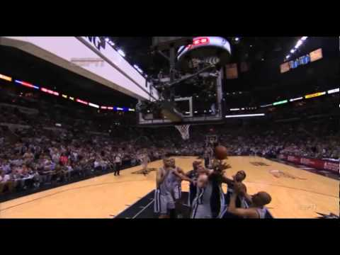Tim Duncan 17 Points 9 Rebounds Full Highlights vs Grizzlies Playoffs R3G2 (5/21/2013)