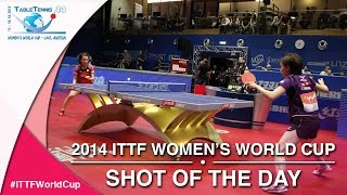 2014 ITTF Women's World Cup - Shot of the day: Day 2