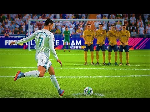 FIFA 18 BEST FREE KICK GOALS COMPILATION *INSANE*