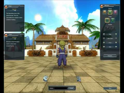 Dragonball Online Gameplay - Character Creation & Commentary (English), The game is not currently out in any English-Speaking country, but my commentary is, and there is an English patch available to help you understand certain t...