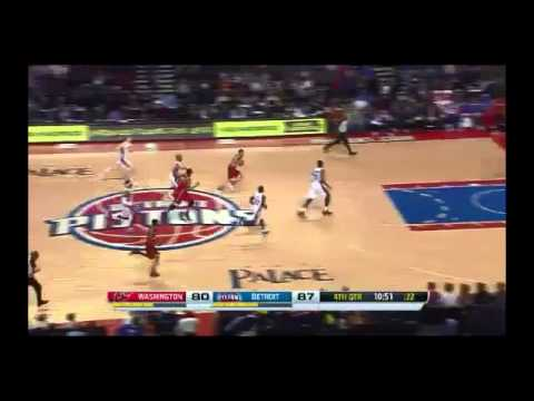 NBA CIRCLE - Washington Wizards Vs Detroit Pistons Highlights 30 Dec. 2013 www.nbacircle.com