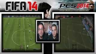 Comparativa FIFA 14 Vs PES 14