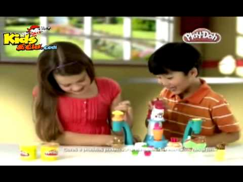 Kids & Cia - Massinha Play-Doh Sorveteria Mágica - Hasbro