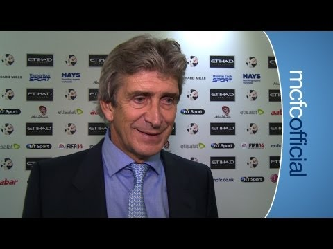 City 4-1 United: Manuel Pellegrini reaction