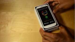Unboxing Samsung Galaxy S3 [En Español]