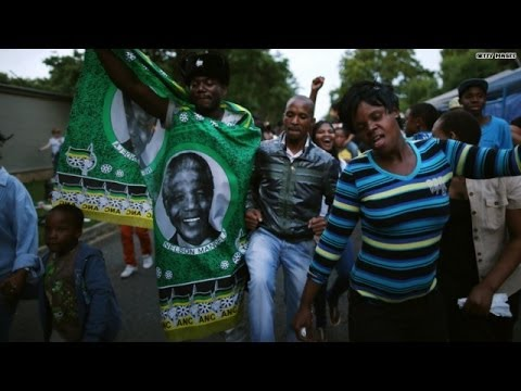 South Africa mourns, celebrates Mandela's life