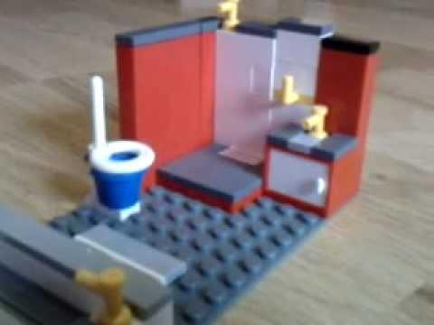 construire une salle de bain lego youtube