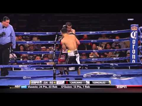Miguel Angel Gonzalez vs Fernando Carcamo 2014-03-28 ESPN Friday Night Fights