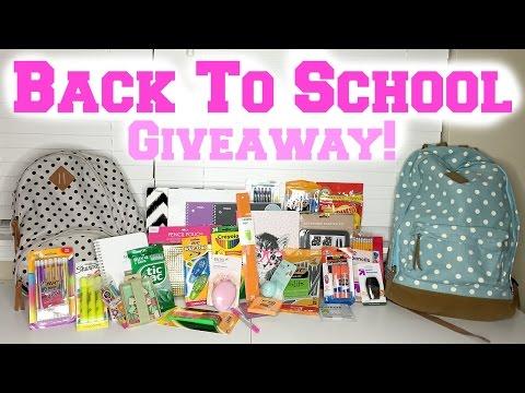 Back to School GIVEAWAY! ♥ [2 Winners]
