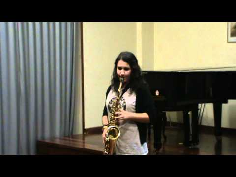 Aula Galega de Saxofón – Estudio Nº 8 de W. Ferliing