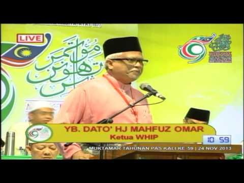 Ucapan Penggulungan Muktamar 59: Dato' Mahfuz Omar