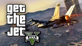 ★ GTA 5 : HOW TO STEAL A FIGHTER JET EASILY !!!