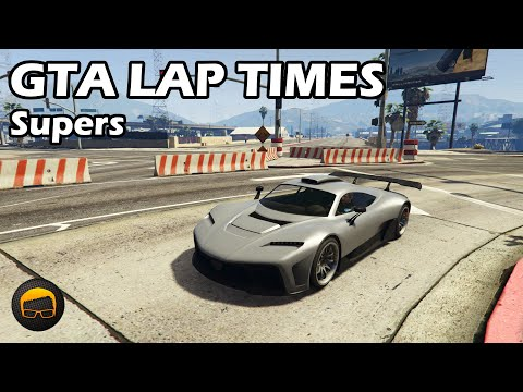 Fastest Supercars (2020) - GTA 5 Best Fully Upgraded Cars Lap Time Countdown