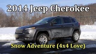 2014 Jeep Cherokee: Snow Adventure (4x4 Love)