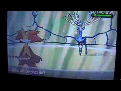 Xerneas overworld sprite/ faster way to get shiny Xerneas???