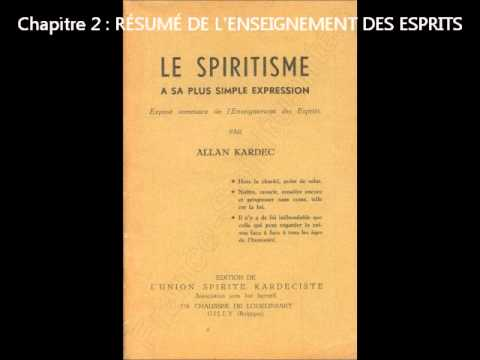 Le Spiritisme à sa plus simple expression (Livre Audio) Allan KARDEC