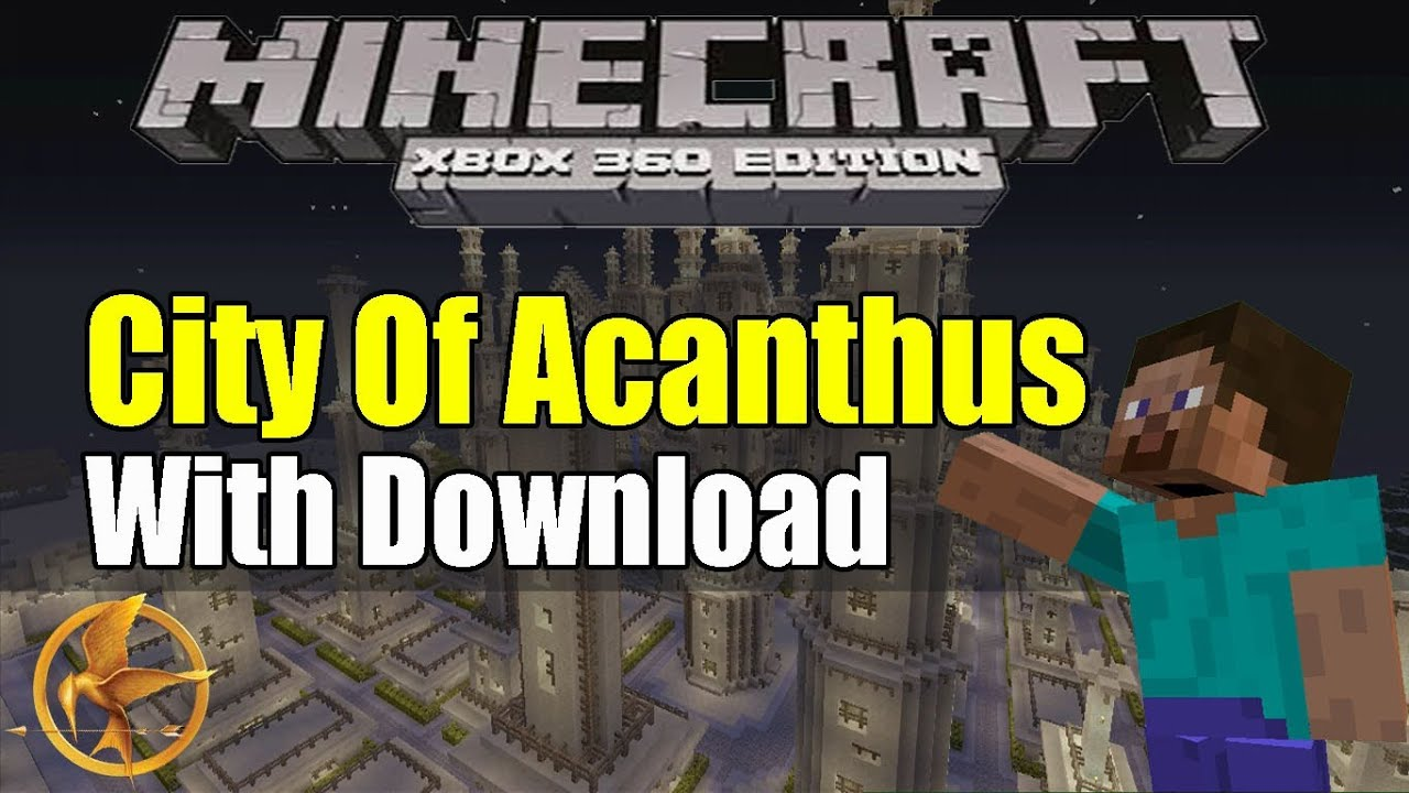 How to download minecraft hunger games maps on xbox 360