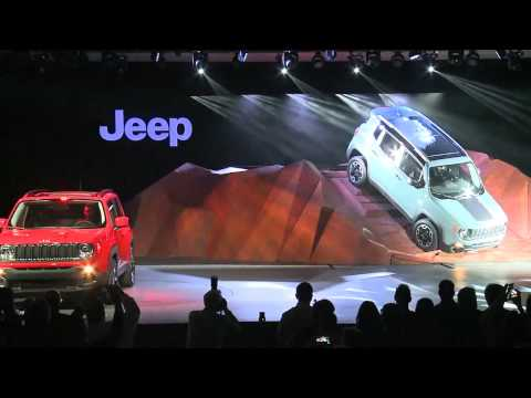 Jeep Renegade Reveal Highlights - New York Auto Show