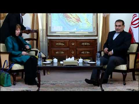 Catherine Ashton in Iran meeting Head of national security council