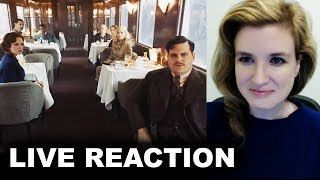 Murder on the Orient Express Trailer REACTION