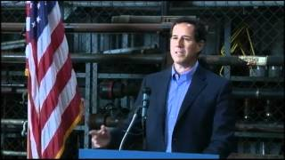 Santorum: Romney Will Say Anything to Win