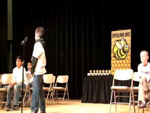 2013 Billerica Spelling Bee Grade 3
