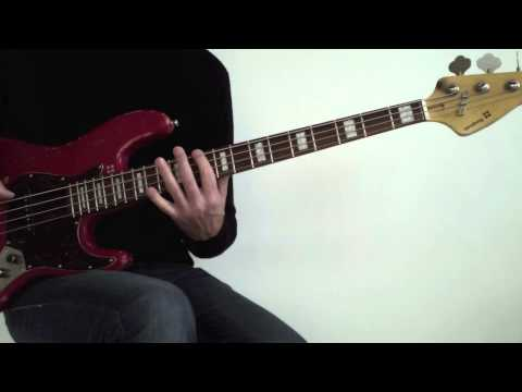 1. Bass fretboard fitness with the pentatonic scale