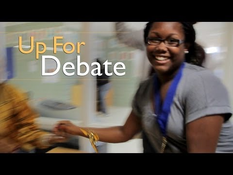 Debate League Steers Students on a Path to Success