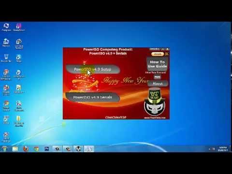 Hướng dẫn cài đặt và crack phần mềm burn đĩa PowerISO