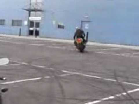 stunts burn out power slide wheelie rossi