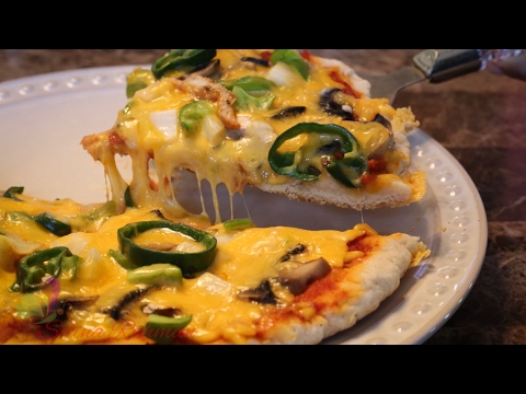চুলায় তৈরি পিৎজা || Homemade Pizza on Stove || No Yeast Pizza || Easy Pizza Recipe || R# 167