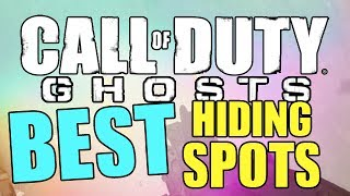 Prison Break Hiding Spots + Jumps (Best COD Ghost Hiding