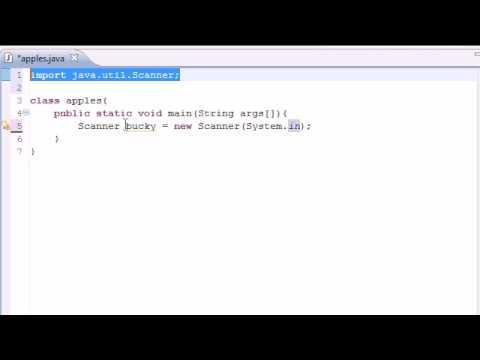 Java Programming Tutorial - 6 - Getting User Input - YouTube