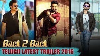 Babu Bangaram,Janatha Garage,Thikka -Back to back trailers