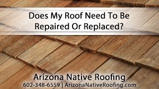 [Does My Roof Need To Be Repaired Or Replaced?] Video