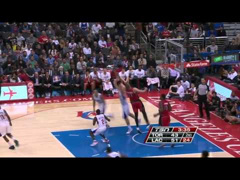 Toronto Raptors vs Los Angeles Clippers | February 7, 2014 | NBA 2013-14 Season