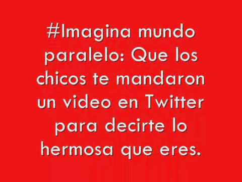 #Imagina mundo paralelo One Direction #1ツ♥