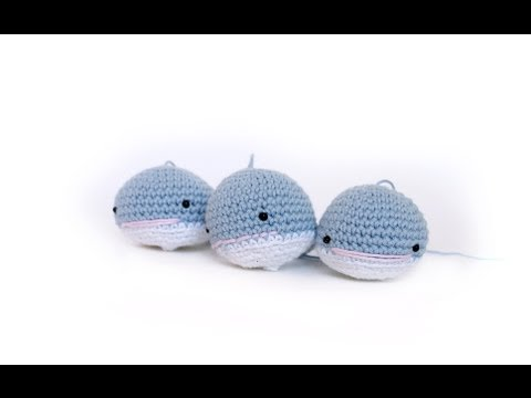 Tutorial Ballena Amigurumi Whale (English subtitles)