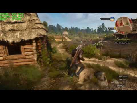 [FX-8320 vs GTX 1070] Witcher3 1080p Ultra setting