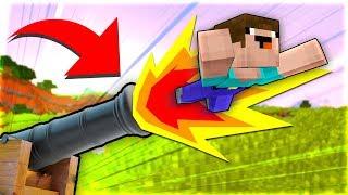 Cách Bắn NOOB Lên Cao 1000m Trong Minecraft!!