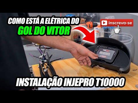 Elétrica da INJEPRO T10000 no Gol do Vitor