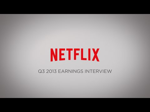 Q3 2013 Earnings Interview